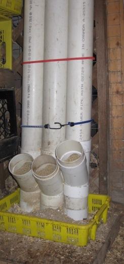 Homemade PVC Feeder