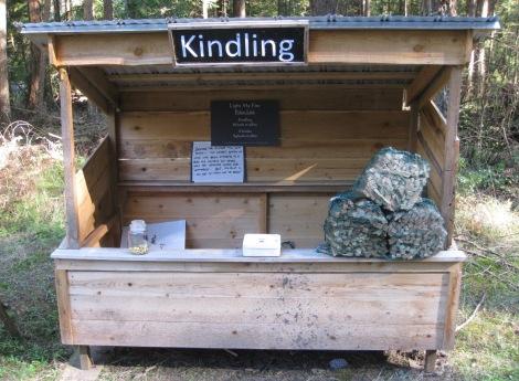 Kindling Stand