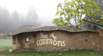 The Commons Cob Wall