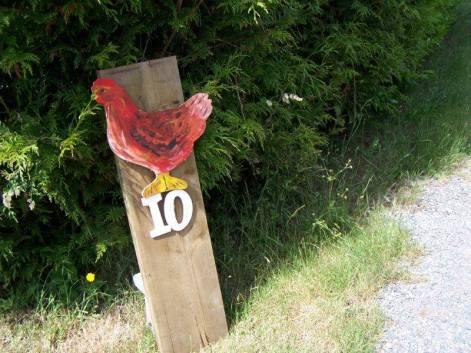 Tour D'Coop Road Sign