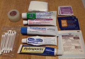 First Aid Meds