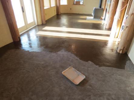 Rob & Karen's Cob Floor