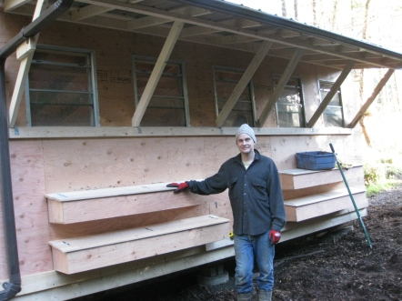 Rob With Roll-Away Nest Boxes