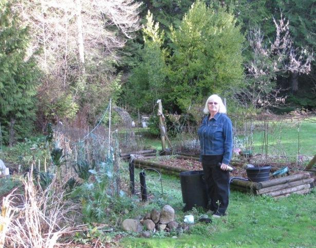 Shirley In The Garden