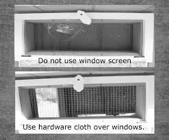 Predator Wire Over Opening Windows