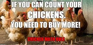 chicken math rule