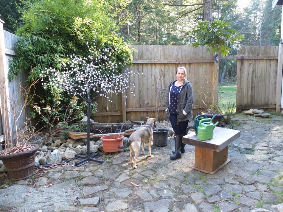 Nadine In Garden