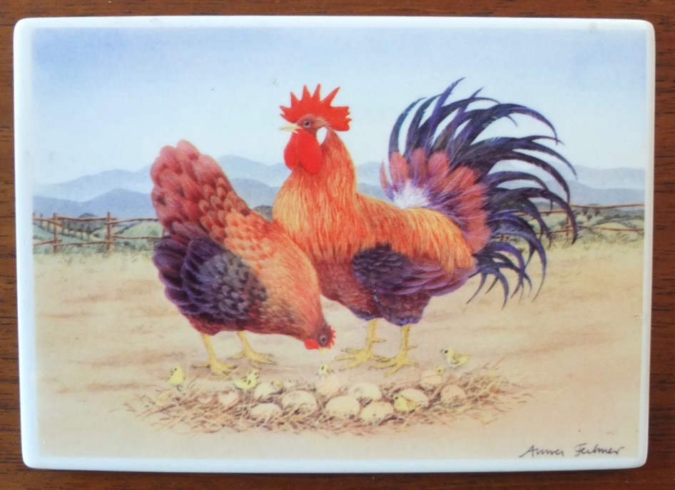 Porcelain Post Card (Germany)