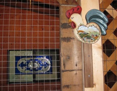 Wooden Chicken Gate Stop