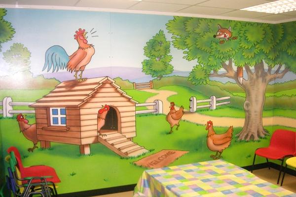 chicken-room