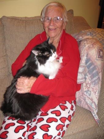 Mum & Mooshie March 2015