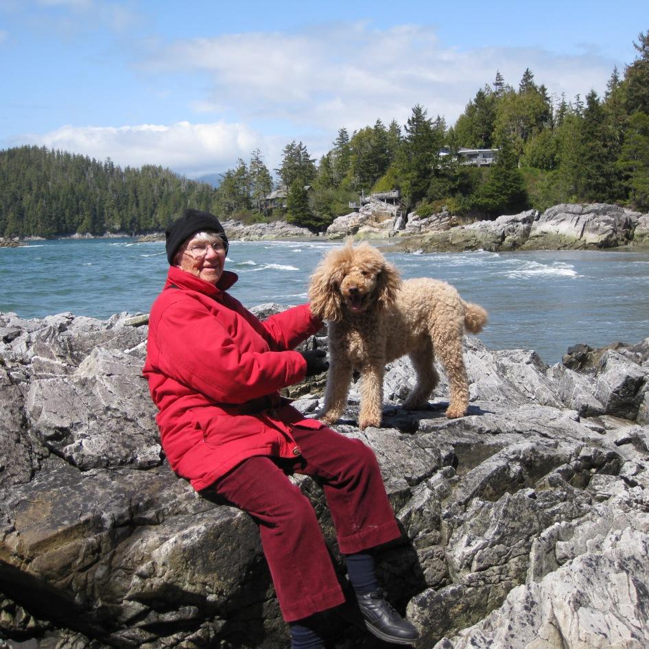 Mum & Simon Tofino 2011