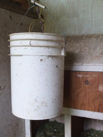 Bucket for Auto Door