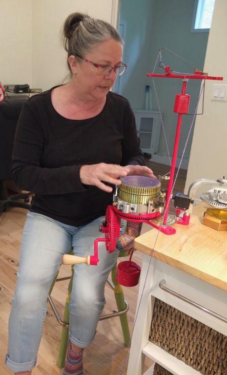 Nanette & Knitting Machine