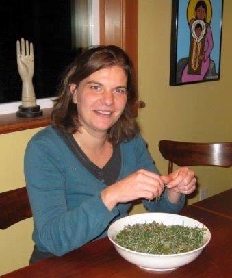 Geraldine Preparing Herbs
