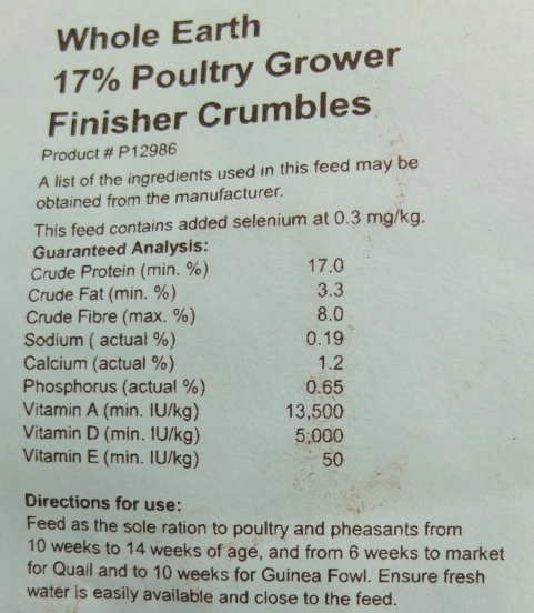 Grower Crumbles