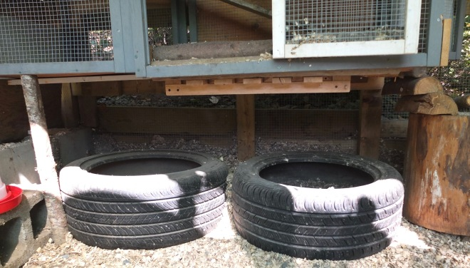 Tires For Dustbaths