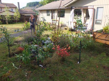 Emily In The Garden