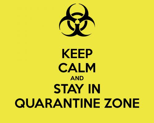 Keep Calm Quarantine