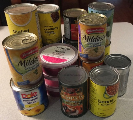 Canned Food Donation