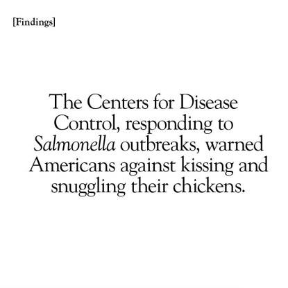 CDC Warning