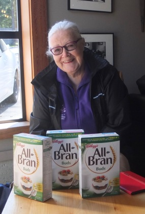 Diane's Cereal Donation