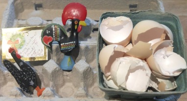 Egg Shells & Chicken Figures