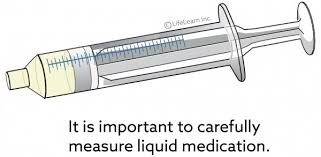 Syringe For Giving Liquid Oral Meds