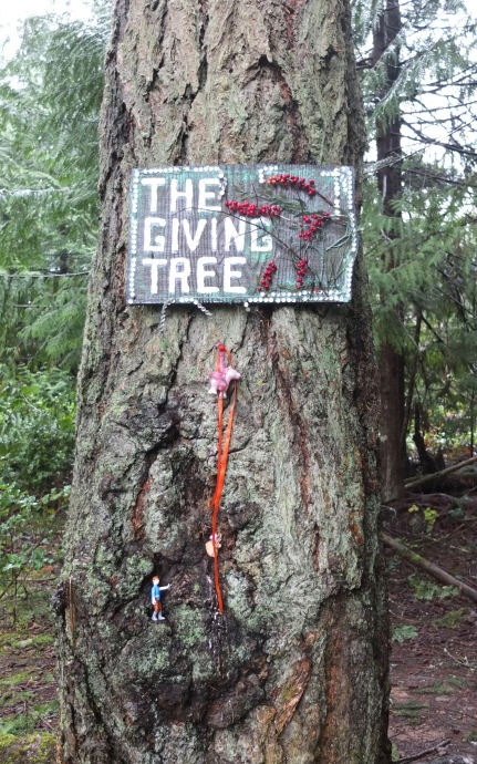 The Giving Tree (Where Folks Leave Things To Give Away)