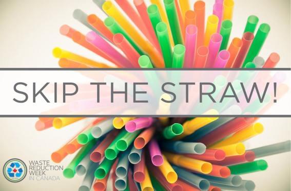 Refuse Plastic Straws