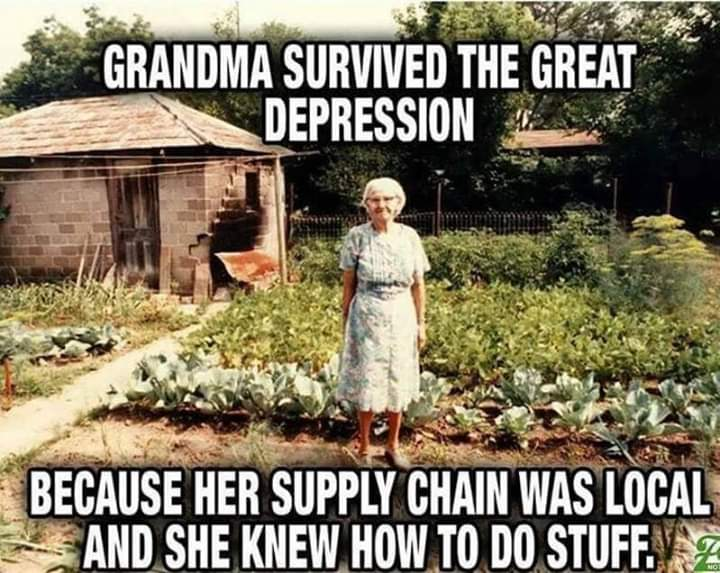 Grandma Survived The Depression