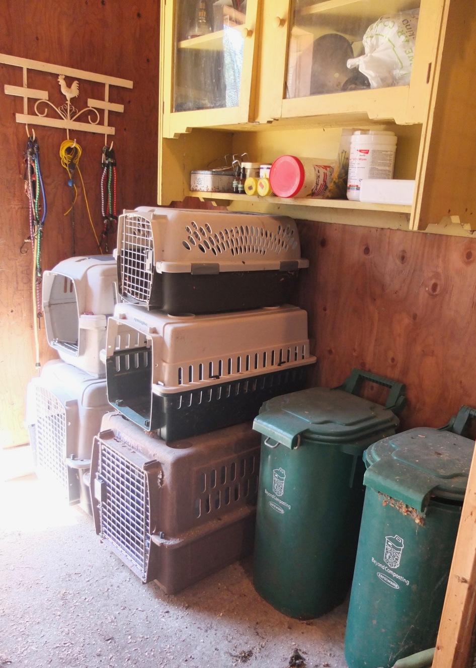 Clean Crates & Feed Bins